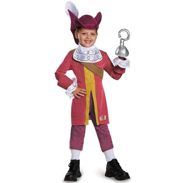 ディズニー ピーターパン ジェイクとネバーランドのかいぞくたち フック船長 コスチューム 幼児用 ハロウィン コスプレ 衣装