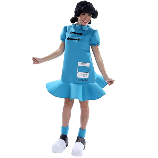 スヌーピー ピーナッツ ルーシー コスチューム 女性用 キャラクターグッズ コレクターズアイテム ハロウィン コスプレ 衣装
