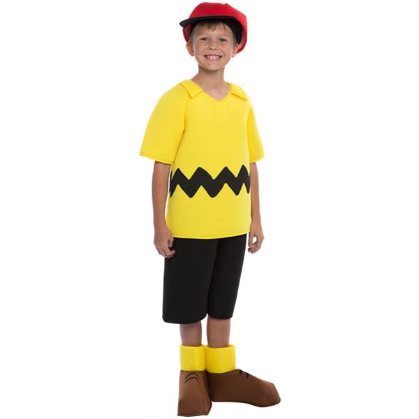 スヌーピー ピーナッツ チャーリーブラウンコスチューム 子供用 キャラクターグッズ ハロウィン コスプレ 衣装