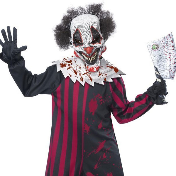 Costume For The Clown Crown Halloween Costume Play Clothes Clown Horror Fear Killer Crown Child
