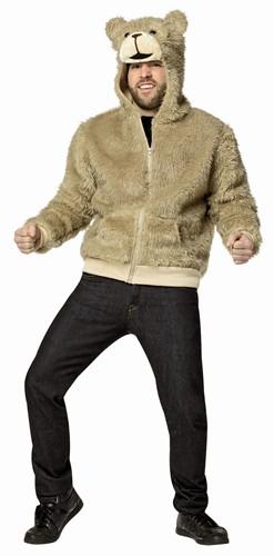 テッド Ted フーディー フード付き パーカー 大人用 男性用 テディベア くま ハロウィン コスプレ コスチューム 衣装 グッズ