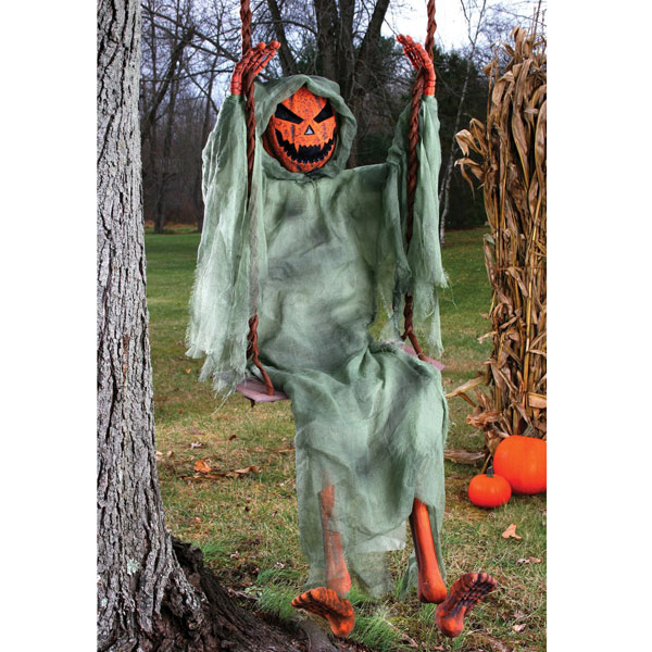 reservation sales 92015 mid stock scary halloween decorations pumpkin pumpkin head swing ornament fear haunted house party