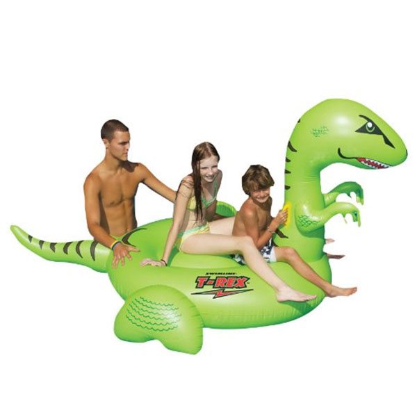 ティラノサウルス ジャイアント 浮き輪 水遊び プール 海水浴 海 ウォーターフロート 恐竜 インスタ