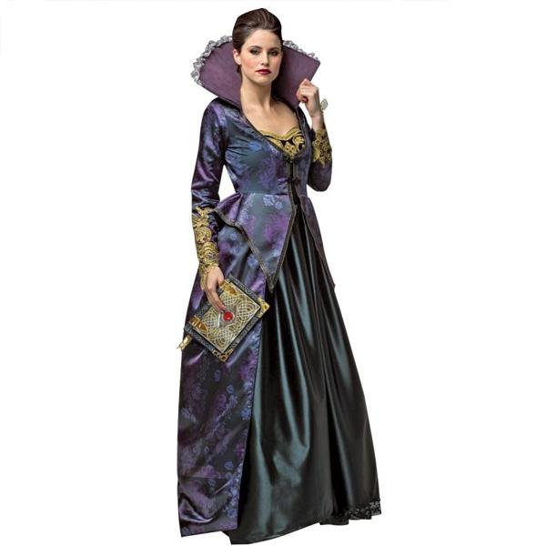 昔話 悪 女王 邪悪 大人 女性用 ドレス コスチューム ハロウィン パーティー コスプレ 悪い 魔女 意地悪