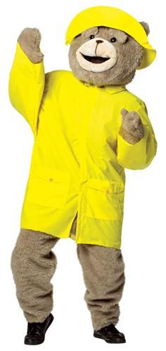 TED テッド 着ぐるみ用 レインコート 大人 コスチューム コスプレ 雨具 衣装 マスコット 動物 くま 映画 キャラクター