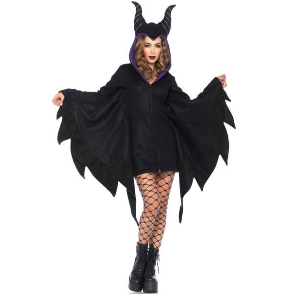 Cozy Villain コスチューム パーカードレス 大人 女性用 衣装 コスプレ ヴィランズ 仮装