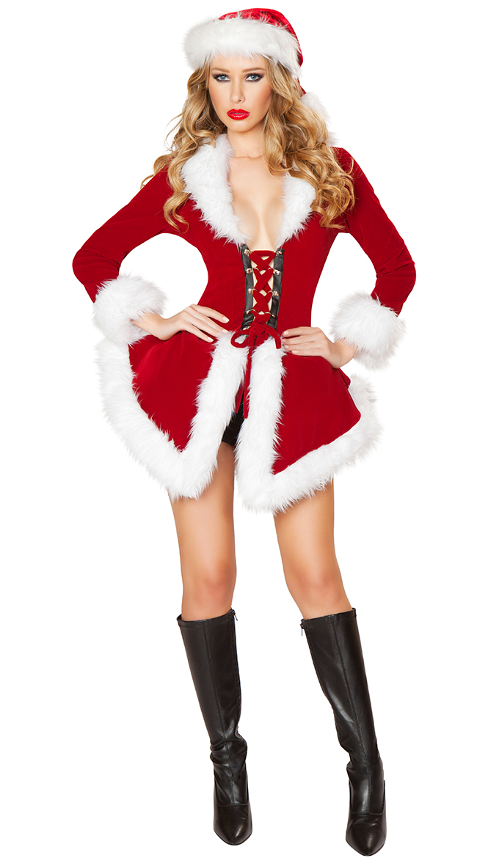 Santa costume sexy Womens costume Santa Claus Christmas flare shorts with dancers dance costume fancy dress adult women  sc 1 st  Rakuten & acomes | Rakuten Global Market: Santa costume sexy Womens costume ...