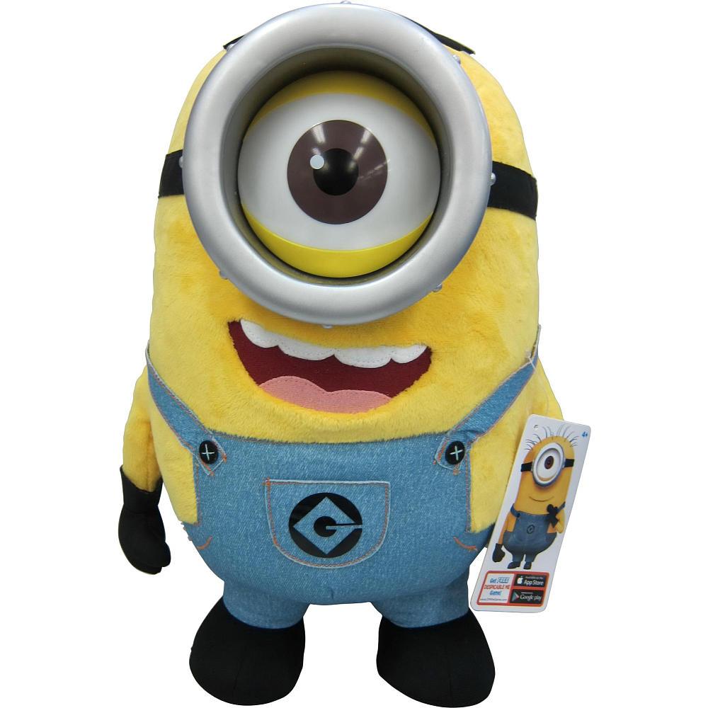 Acomes Minion Stewart Doll Stuffed Talking 41 Cm Minions Phantom Action Figure Glue Toy Toys