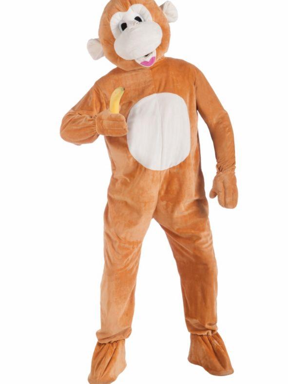 モンキー マスコット 大人 男性用 着ぐるみ コスチューム サル 猿 さる 申年 写真 おサル ウッキ~