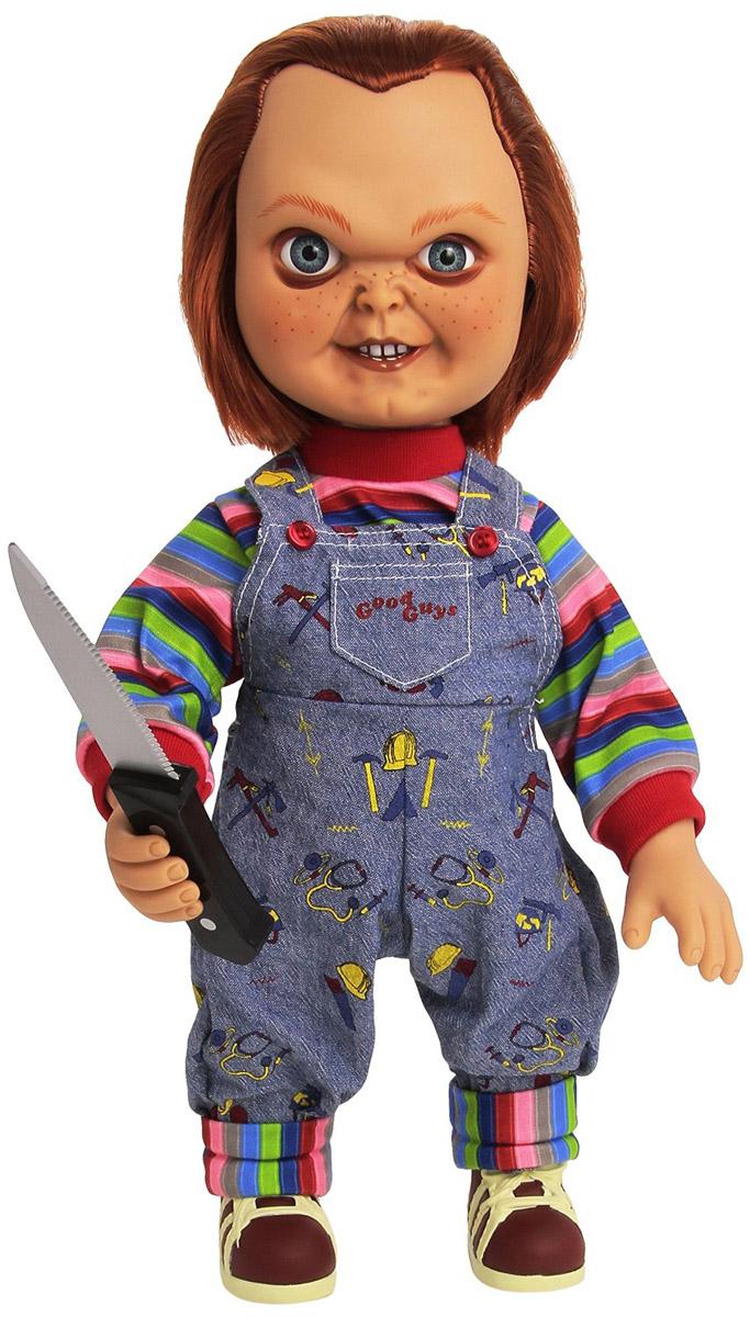チャッキー トーキングフィギュア しゃべる人形 38cm チャイルドプレイ ホラー 映画 キャラクター アクションフィギュア