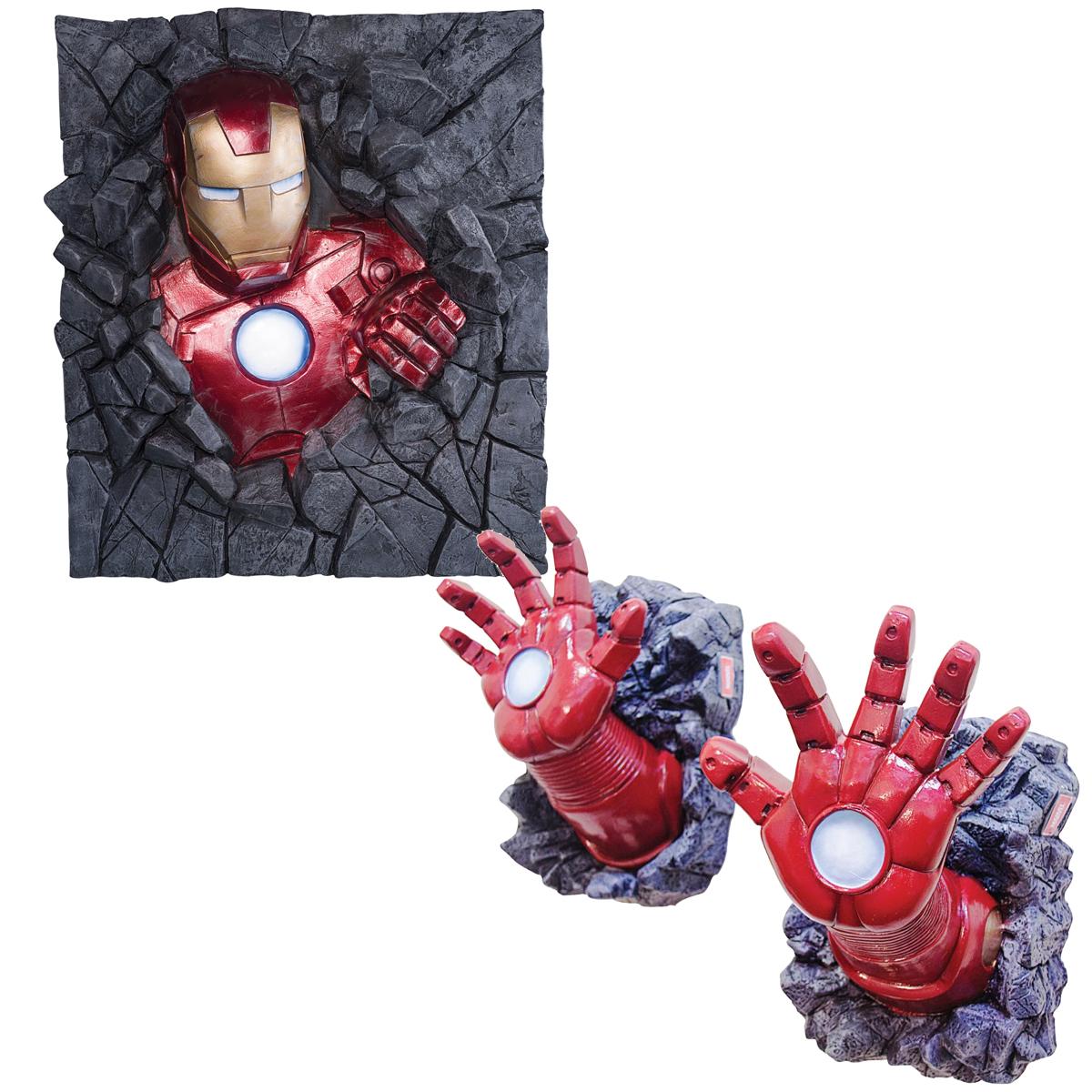 アイアンマン グッズ 立体 3D 壁 飾り 装飾 ウォールデコレーション アベンジャーズ キャラクター アメコミ 海外 コミック インテリア ホビー おもちゃ