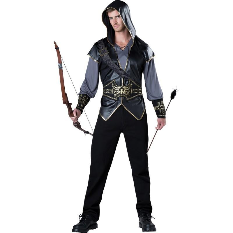ハンター 大人用 コスチューム 狩り 狩人 ハロウィン イベント パーティー 舞台 劇 ロビン・フッド