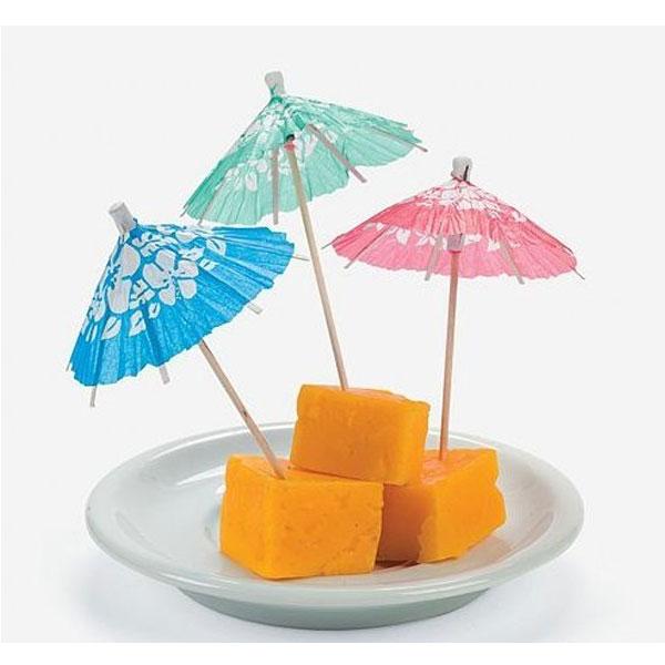 カクテルピック パラソル ピック ドリンク 楊枝傘 飾り 144本 セット ハワイアン 紙製 パーラー 小さな傘 ペーパー パーティー イベント 飲み物