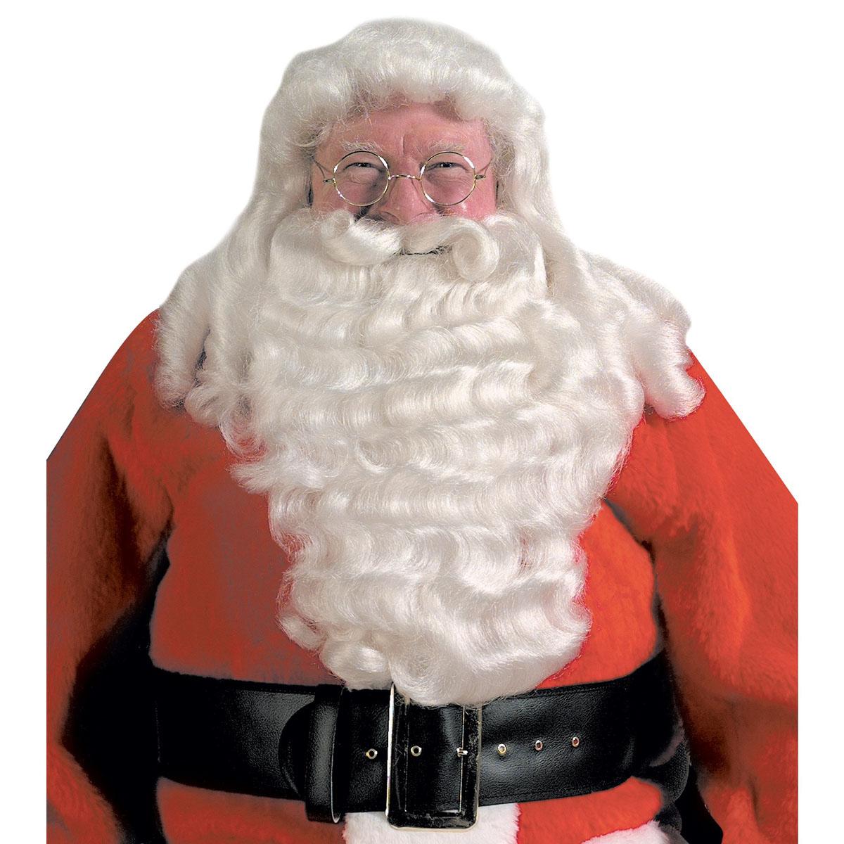 クリスマス パーティー グッズ サンタクロースのウィッグとひげ