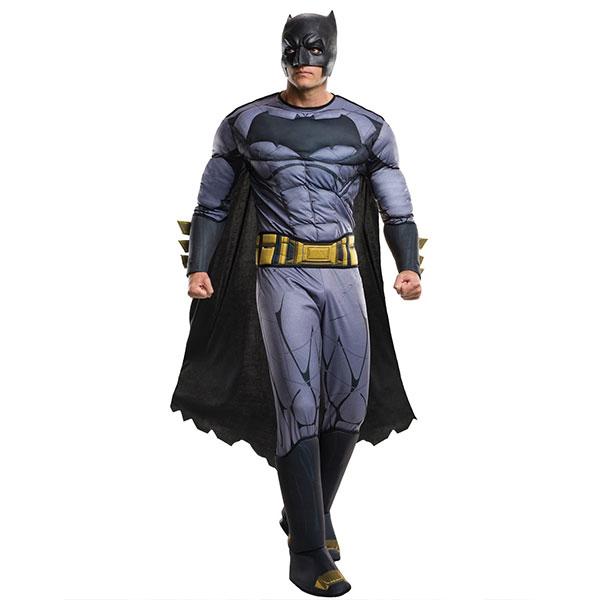 通常便なら送料無料 バットマン 大人男性用 デラックス コスチューム ハロウィン コスプレ イベント 開催中 vs 大人 ランキング総合1位 衣装 スーパーマン 男性