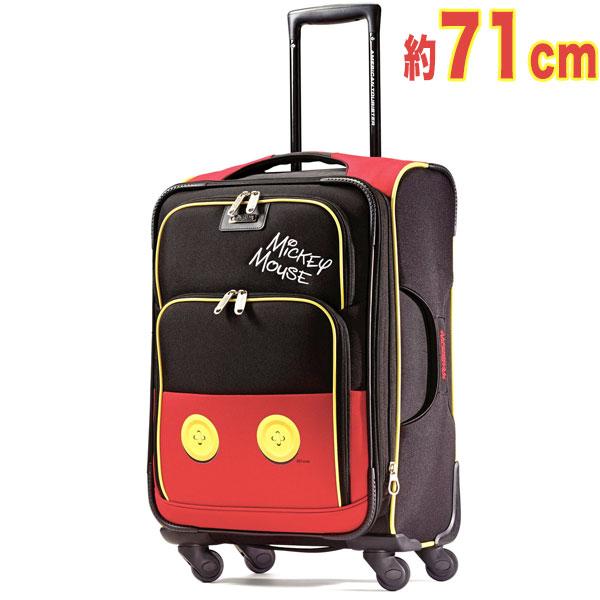 ミッキーマウス キャリーバッグ 旅行バッグ ディズニー 71cm【海外取り寄せ品:約10週間でお届け】【北海道・沖縄・離島地域は送料別途見積】
