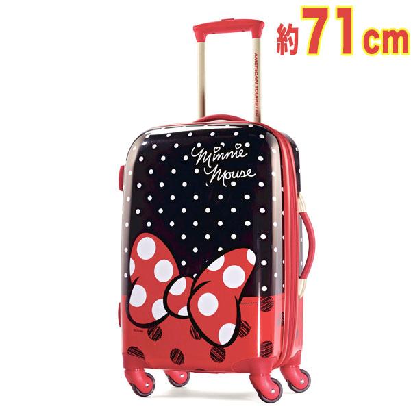 ミニーマウス キャリーバッグ 旅行バッグ ディズニー 71cm