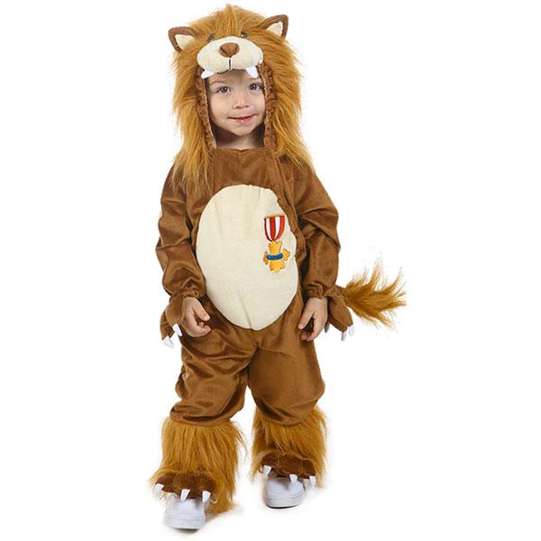 オズの魔法使い 臆病な ライオン ジーク 幼児 子供用 コスチューム ハロウィン コスプレ イベント パーティー オズのまほうつかい