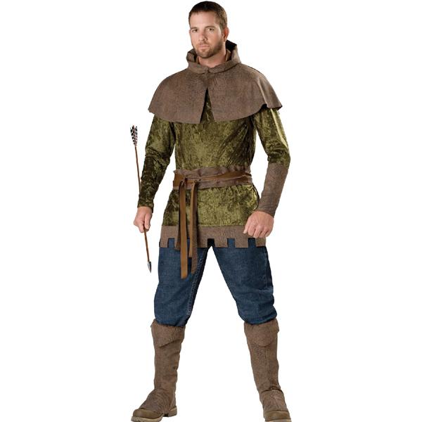 ロビンフッド コスプレ 衣装 大人用 ハロウィン 中世 コスチューム 狩人