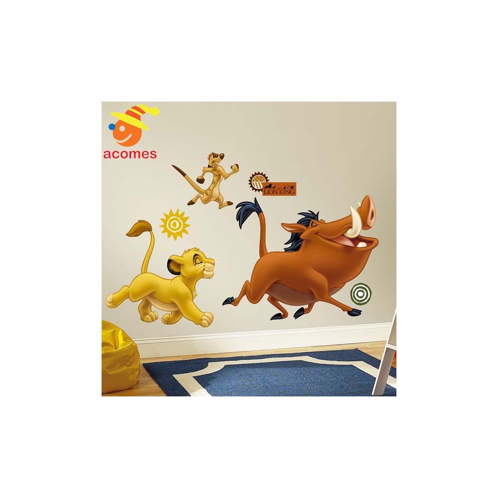 楽天市場 ライオンキング ウォールステッカー 子供部屋 壁紙
