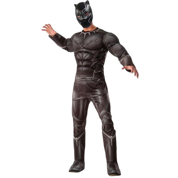 シビルウォー キャプテンアメリカ ブラックパンサー コスチューム 男性用 アベンジャーズ スーパーヒーロー アメコミ マーベル コス