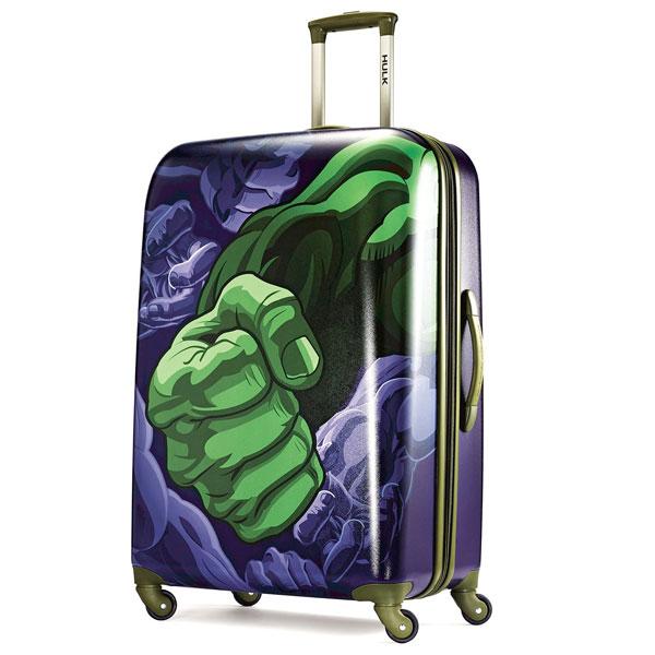 マーベル ハルク スーツケース キャスター付き 28インチ 機内持ち込み不可 アメリカンツーリスター 旅行 ラゲージ スーパーヒーロー アメコミ