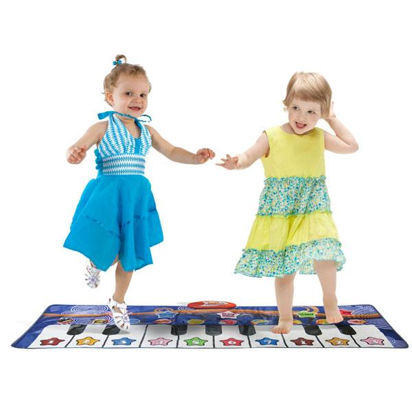 タブレット型ピアノ 知育玩具 プレイマット 10種類 サウンド ピアノ