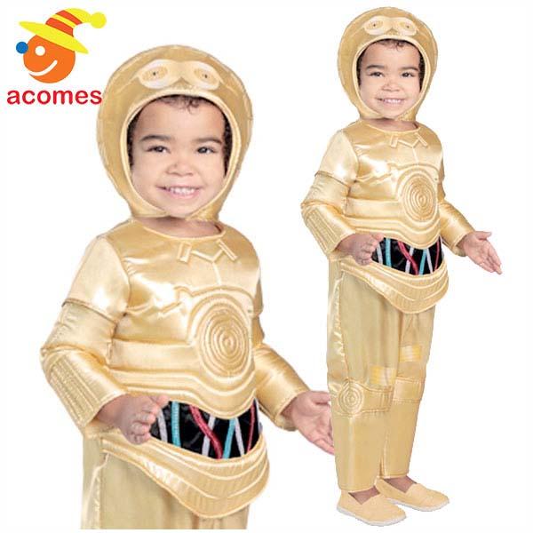 スターウォーズ C-3PO 幼児用 コスチューム ハロウィン コスプレ 衣装 映画