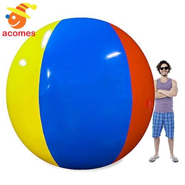 ビーチボール 大 3.6m 野外 遊び 巨大 プール 海水浴 海 水遊び パーティー スポーツ 競技