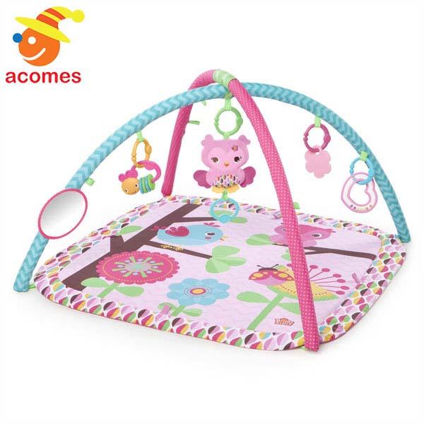 ベビージム プレイマット プリティ ピンク 赤ちゃんジム 出産祝い 知育 玩具