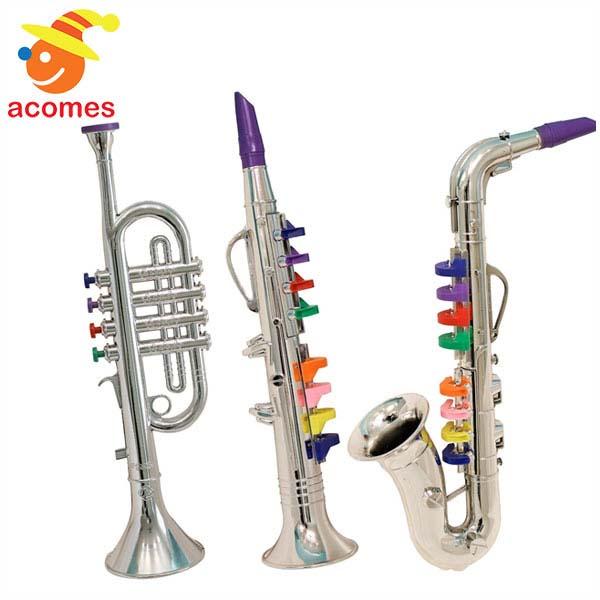 楽器 おもちゃ 子供用 クラリネット サックス トランペット 3点 セット