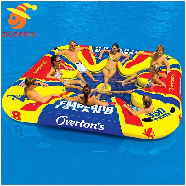 8人用 大型 おもしろい 浮き輪 うきわ 複数 家族 友達 グループ ペア 大きい ボート フロート パーティ グッズ エンペラーアイランド インスタ