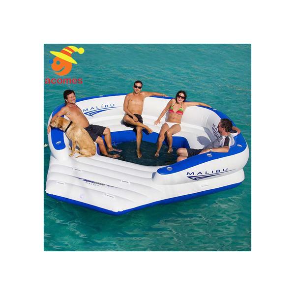 【通常便なら送料無料】10人乗り大きいボート・浮き輪 グループパーティグッズ 10人用 大型 おもしろい 浮き輪 うきわ 複数 家族 友達 グループ ペア 大きい ボート フロート パーティ グッズ マリブラウンジ インスタ