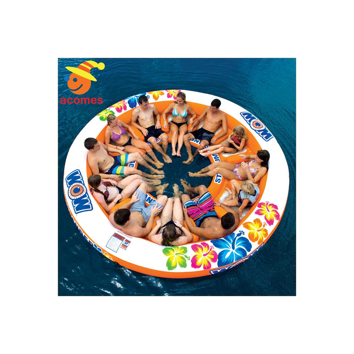 12人用 大型 おもしろい 浮き輪 うきわ 複数 家族 友達 グループ ペア 大きい ボート フロート パーティ グッズ スタジタムアイランダーラウンジ インスタ