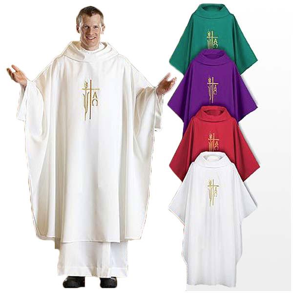 ローマ教皇 修道士 神父 カズラ チャジブル 司祭 カトリック 聖公会 ミサ ポンチョ 大人