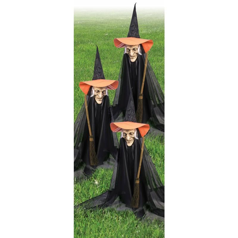 Halloween Decoration Decorations Witch Witch Halloween Decorations This  Garden To Decorate 3