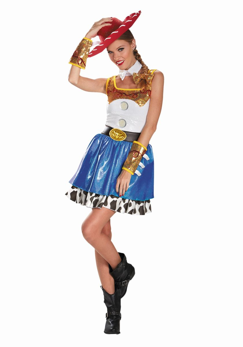 ディズニー コスチューム 大人 トイストーリー ジェシー 衣装 キャラクター コスプレ 女性 カウガール