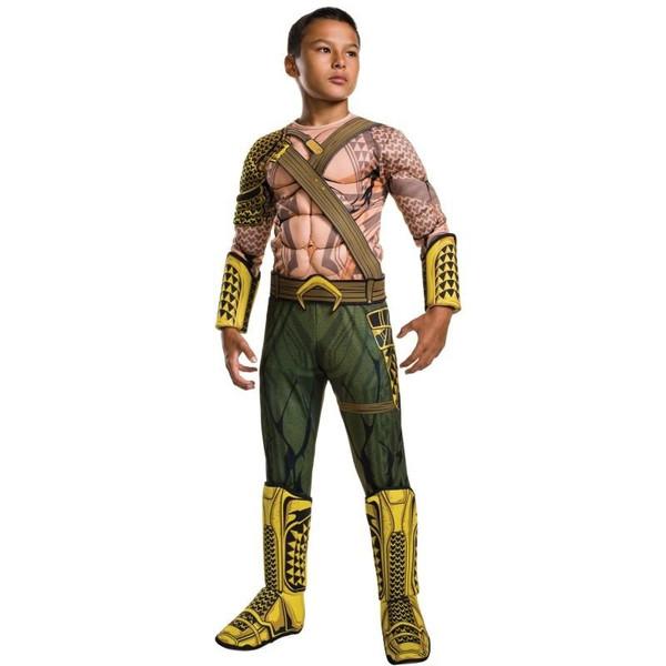 コスプレ 子供 衣装 男の子 人気 バットマン vs スーパーマン アクアマン DX コスチューム ハロウィン ジャスティスの誕生