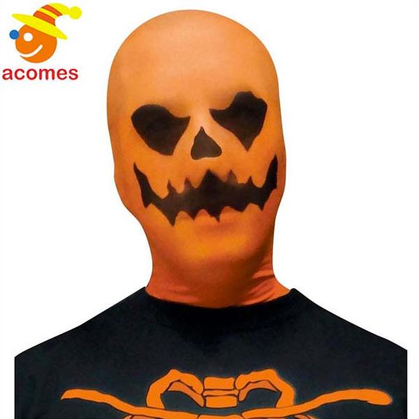 かぼちゃ ストッキング マスク オレンジ ジャックオランタン イベント パーティー