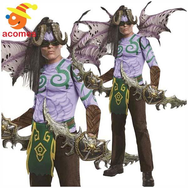 ウォークラフト コスプレ イリダン コスチューム 男性用 大人用 ワールドオブウォークラフト RPG ゲーム オンラインゲーム キャラクター ハロウィン 衣装