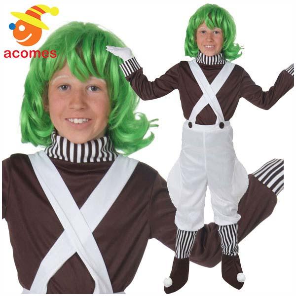 夢のチョコレート工場 クラシック 子供用 衣装 ハロウィン コスチューム チャーリー