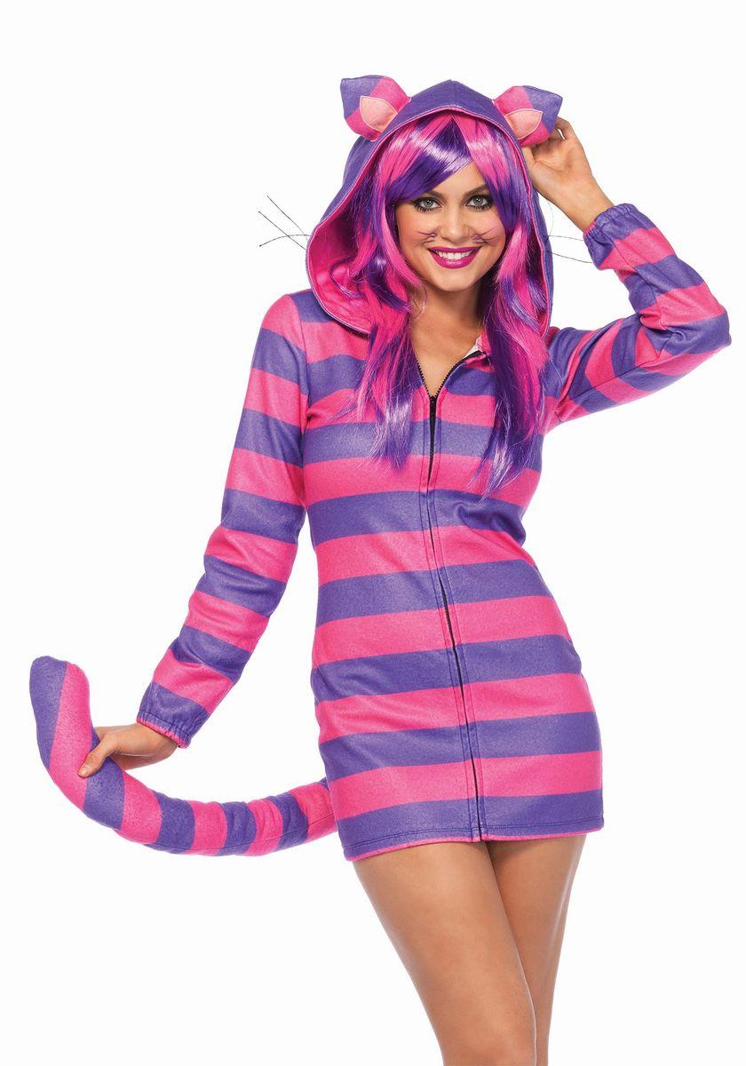 ディズニー コスチューム 大人 チェシャ猫 コスプレ パーカー 女性用 着ぐるみ パジャマ レディース 仮装 不思議の国のアリス キャラ
