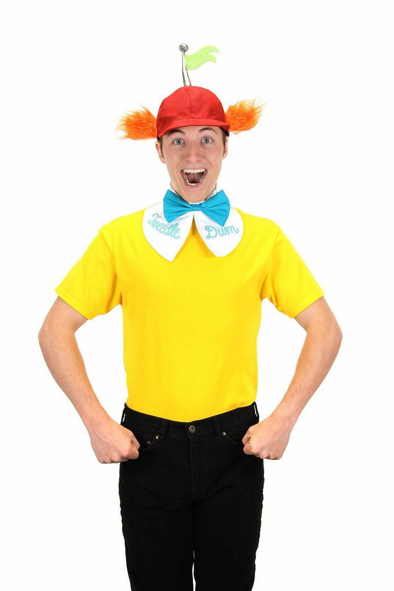 ディズニー 仮装 大人用 アリス コスチューム コスプレ 双子 トゥイードルダム トゥイードルディー 大人用 ハロウィン 仮装 変装 セット