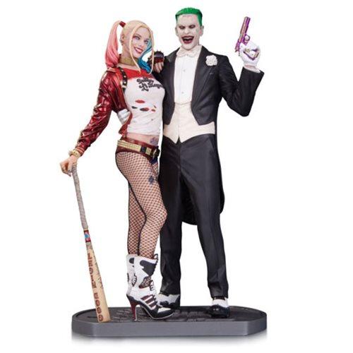 スーサイドスクワッド グッズ フィギュア ハーレイ・クイン ジョーカー タキシード アメコミ DCコミックス キャラクター 人形 おもちゃ