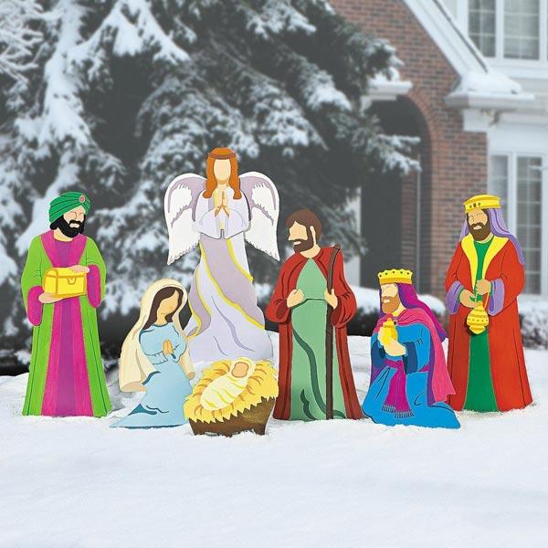 キリスト 降誕 デラックス 庭 飾り クリスマス イベント パーティー 降誕劇