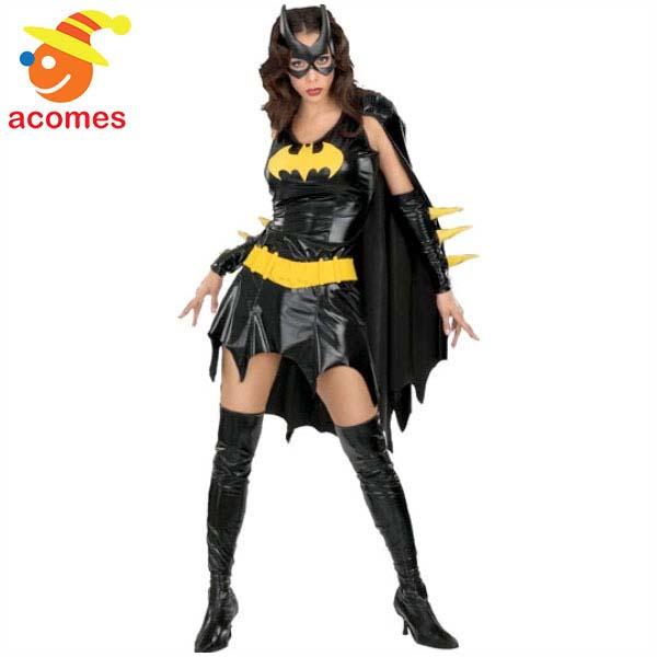 ハロウィン バットガール コスチューム コスプレ 衣装 大人 女性 バットマン スーツ 仮装 アメコミ 海外 映画 キャラクター