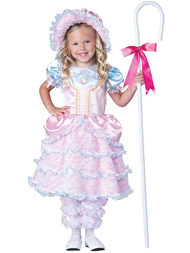 ボーピープ コスチューム 子供 羊飼い リトル  幼児 衣装 ハロウィン イベント パーティー かわいい ひらひら ドレス