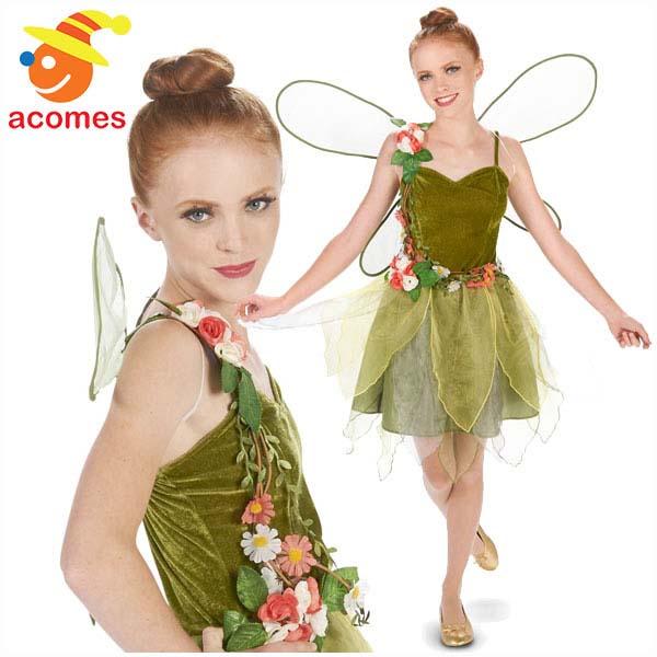 妖精 コスプレ 衣装 ハロウィン ジュニア サイズ 花 フェアリー コスチューム 環境 自然 イベント パーティー 演劇 舞台