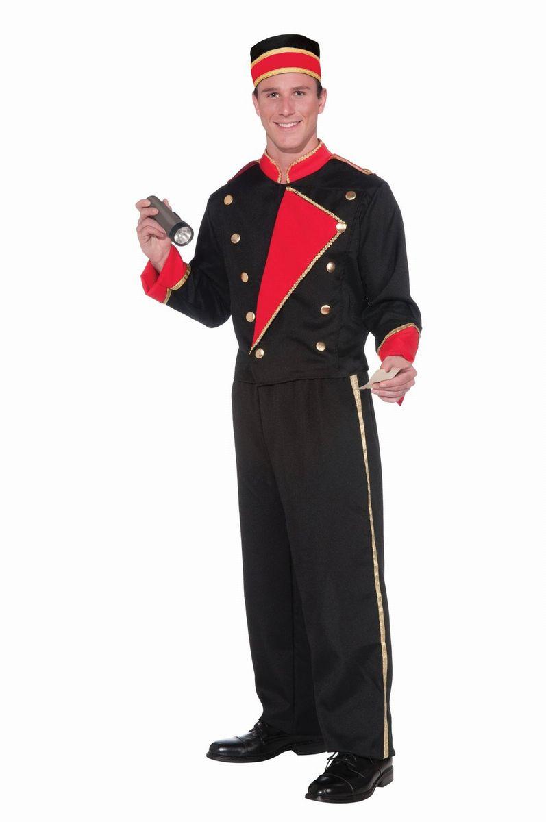 ホテルマン ドアマン ベルマン ベルボーイ ベルホップ 衣装 制服 黒 大人用 ハロウィン コスプレ コスチューム
