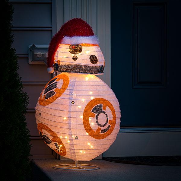 スターウォーズ BB8 BB-8 グッズ ライト 照明 インテリア フロアスタンド 提灯風 クリスマス ギフト プレゼント